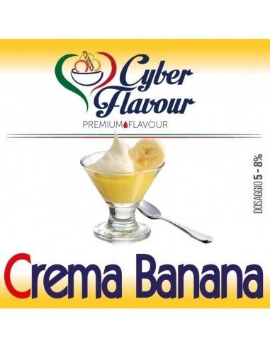 Crema Banana Aroma concentrato
