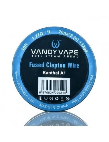 Fused Clapton Wire 26ga+32ga 3mt